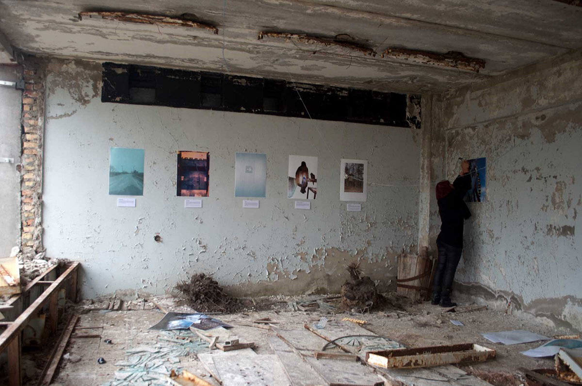 UK artist stages guerilla photography exhibition in Chernobyl