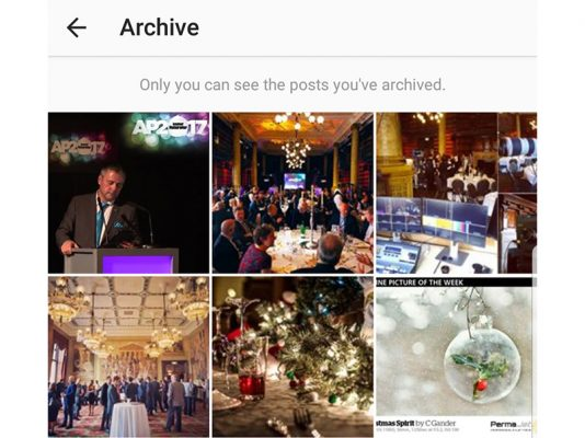 Instagram archive