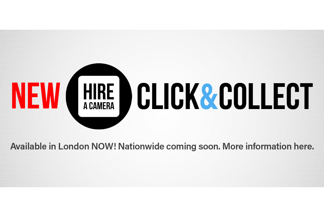 Hireacamera.com introduces London 'Click and Collect' service
