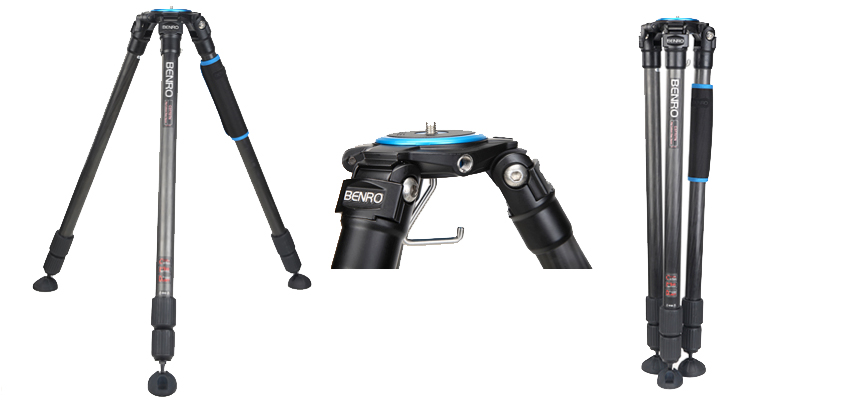 New premium tripods from Benro, built for heavyweight kit