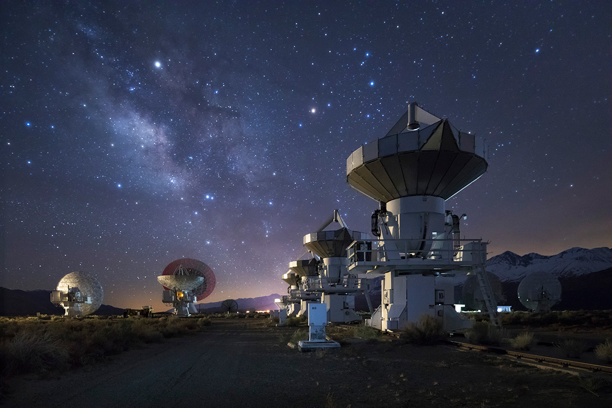 Photo insight with David Clapp: Radio telescopes, Sierra Nevada