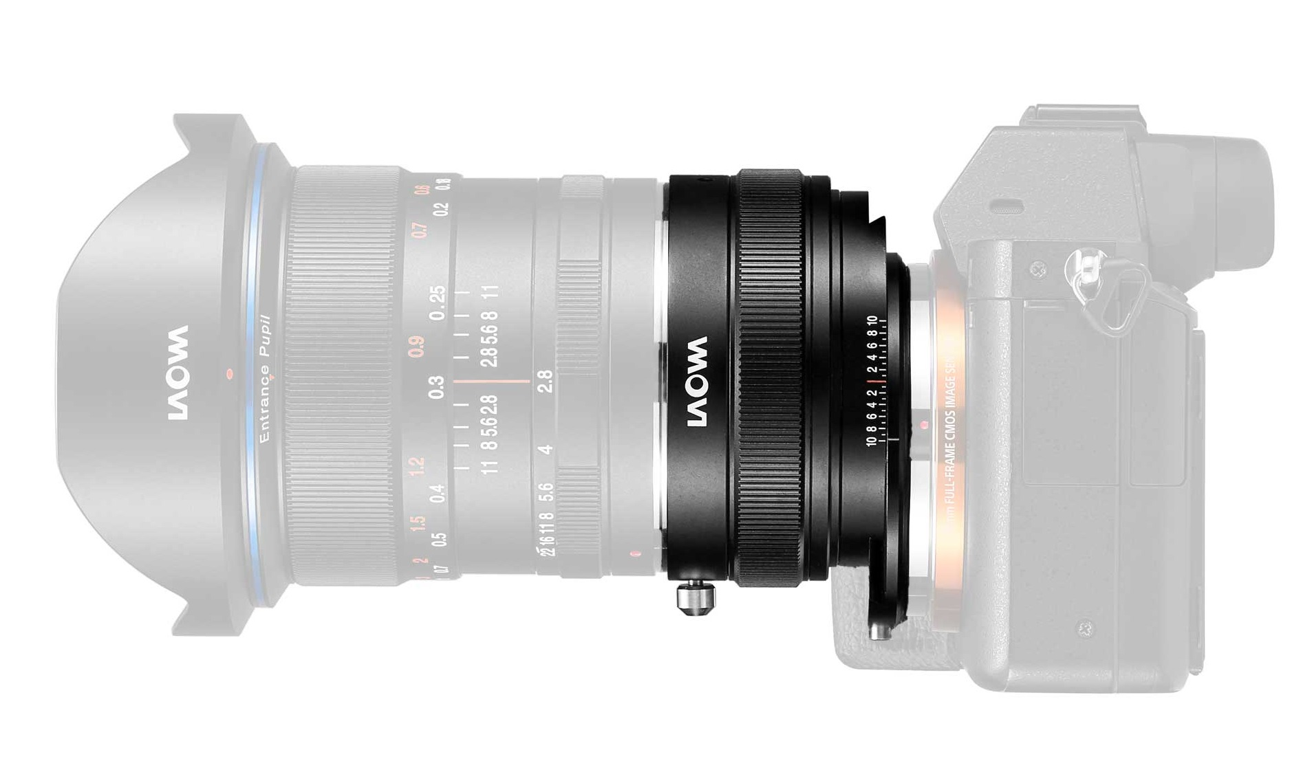 Turn ultra-wide angle lenses into shift lenses with the Laowa Magic Shift Converter for Sony