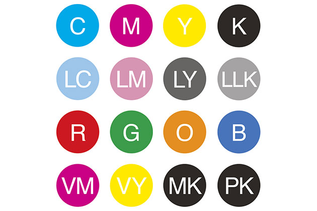 Printing ink colours