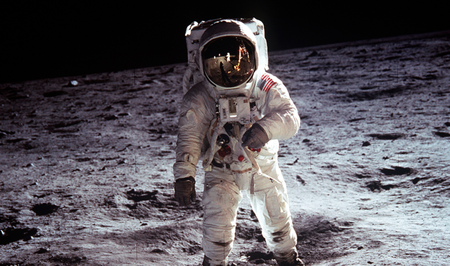 Man on the Moon – Neil Armstrong's Iconic Photograph