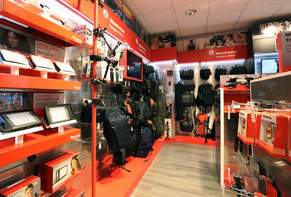 Park Cameras unveil redesigned Manfrotto hands-on zone at West Sussex store – Promotion