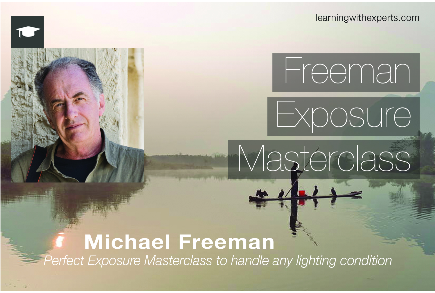 Get 50% off a Michael Freeman exposure course *Promotion*