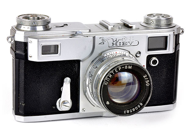 second-hand film cameras