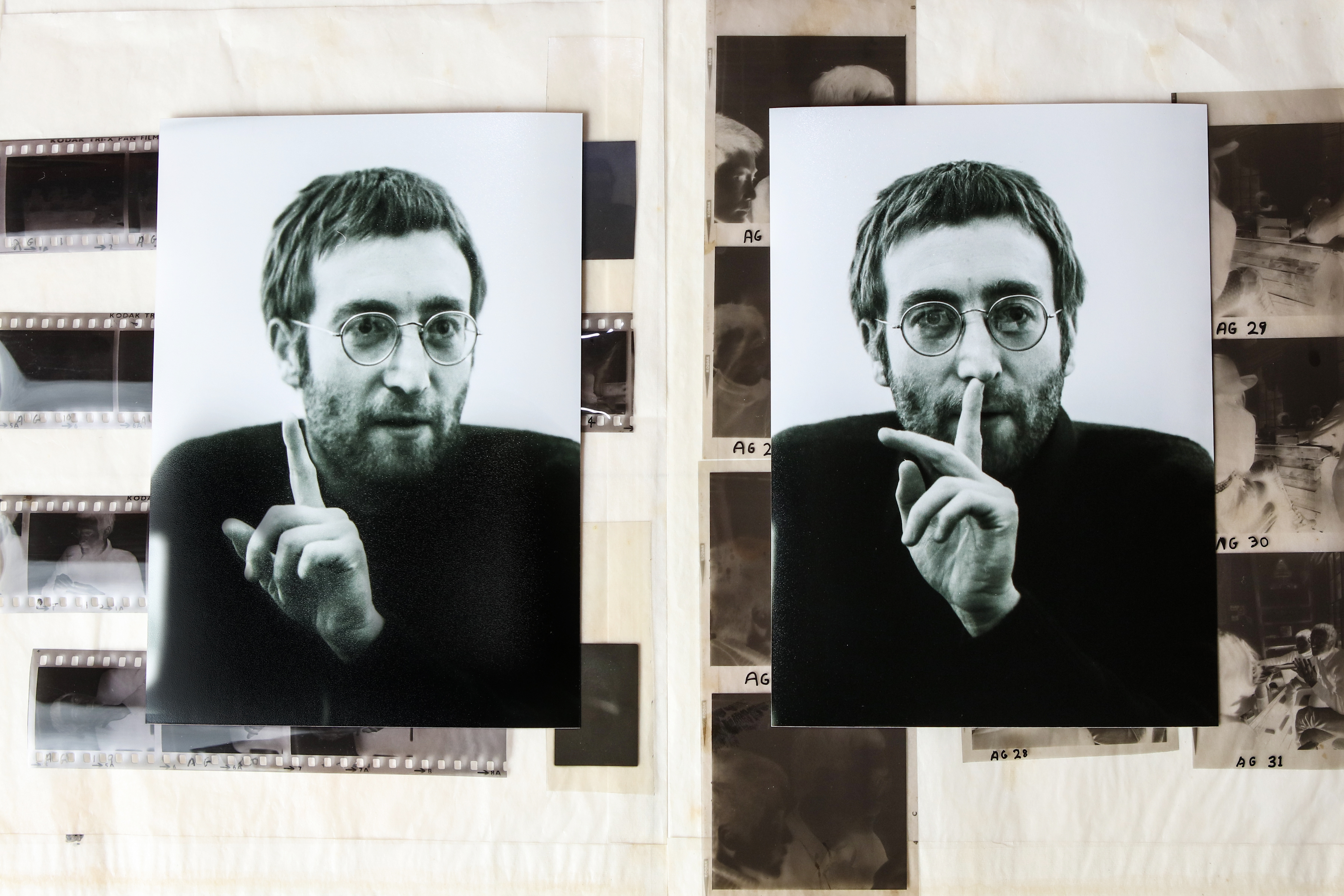 Never before seen John Lennon photos unearthed in Liverpool