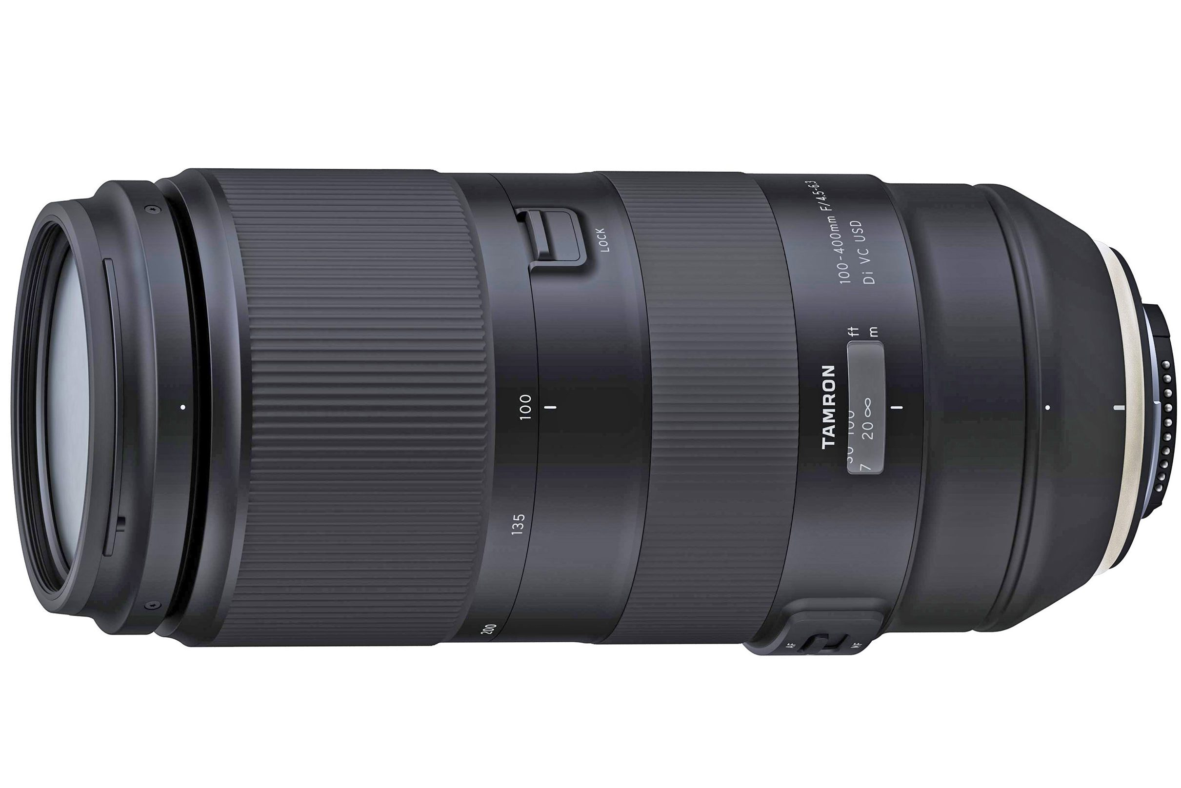 Tamron 100-400mm f/4.5-6.3: New zoom for full-frame DSLRs launched