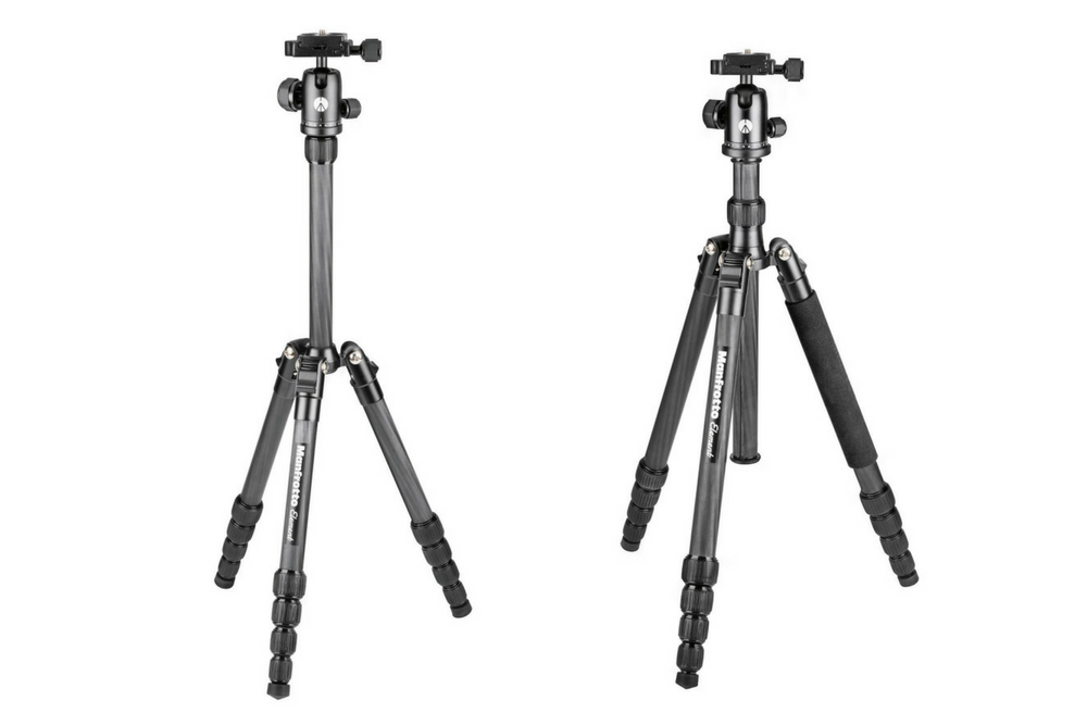Manfrotto announces two new Element Carbon tripods