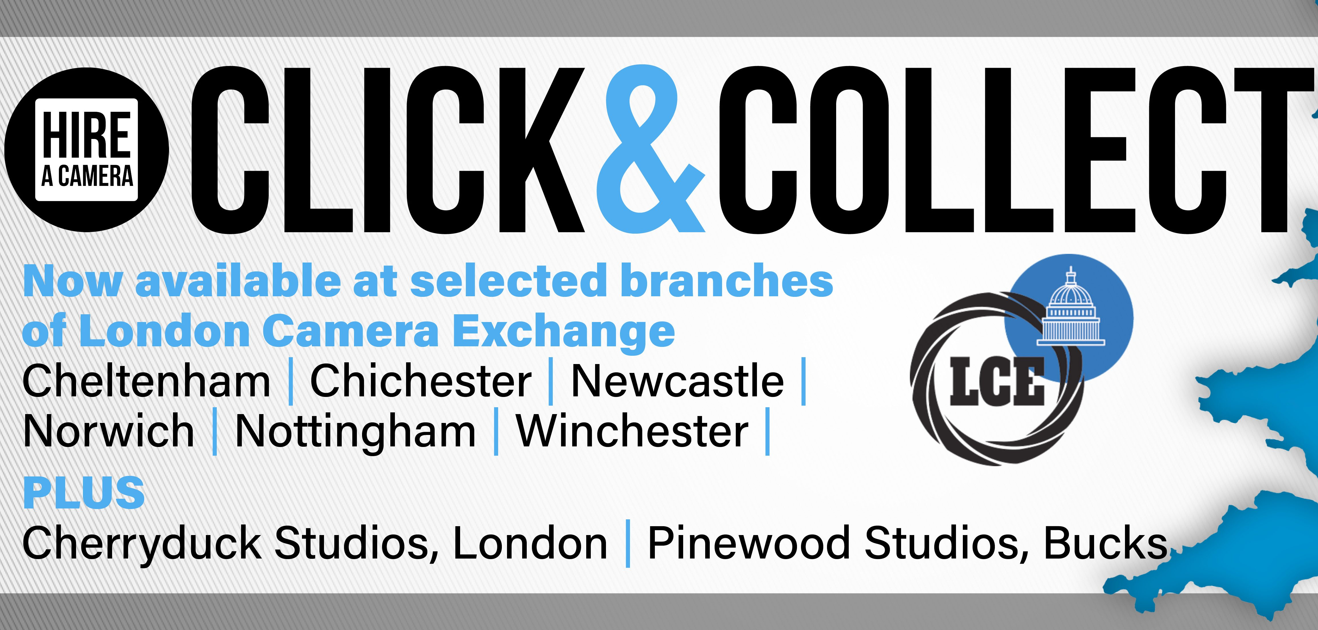 Hireacamera launches nationwide Click and Collect service