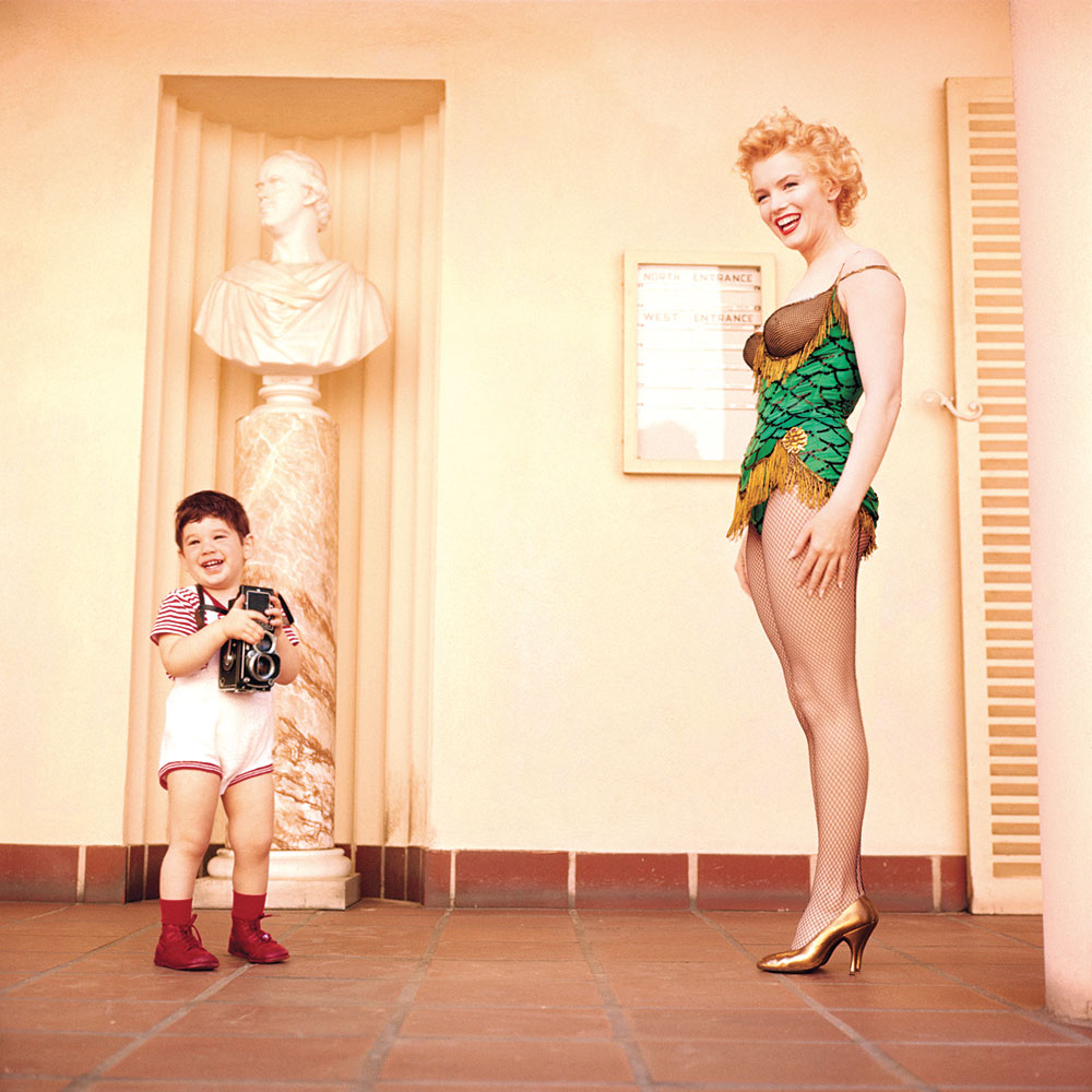 Milton H Greene Marilyn Monroe with Joshua Greene 1956