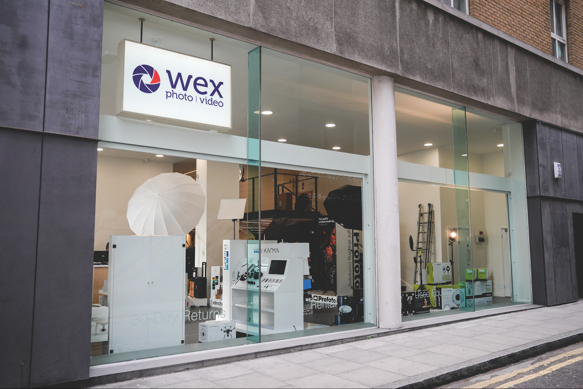 UK's largest camera shop opened by Wex Photo Video