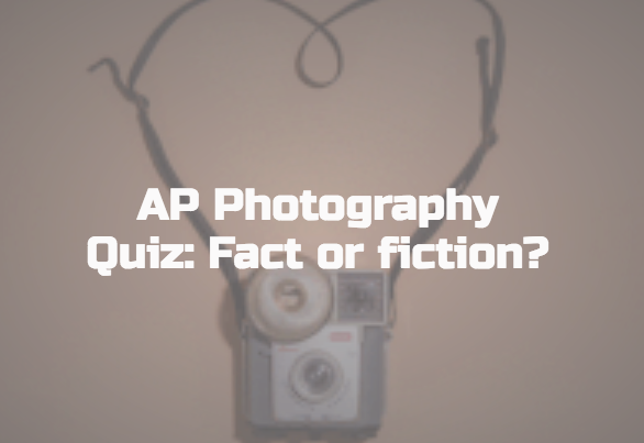 PHOTOGRAPHY GENERAL KNOWLEDGE