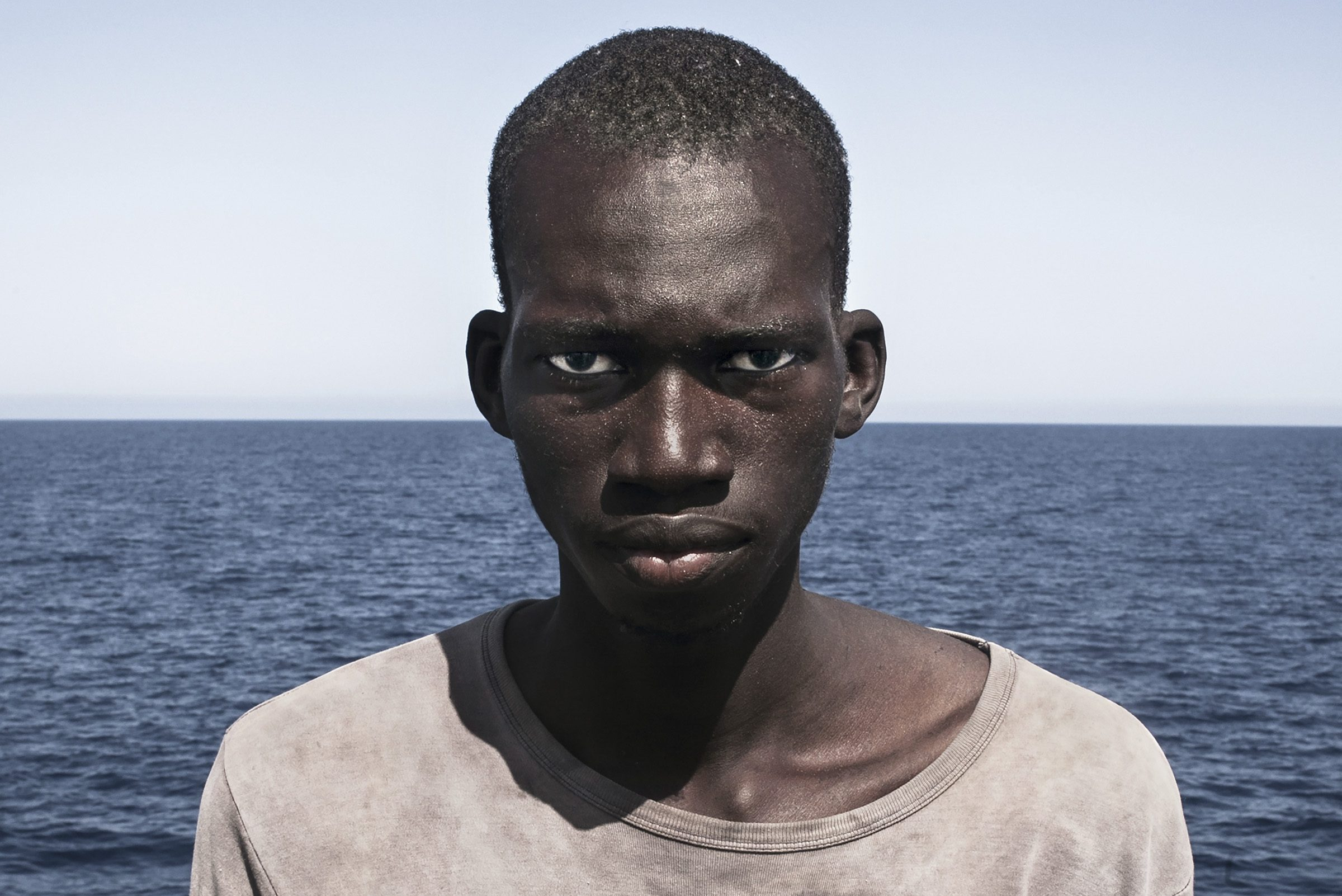 Portrait of a rescued migrant wins Taylor Wessing photography prize