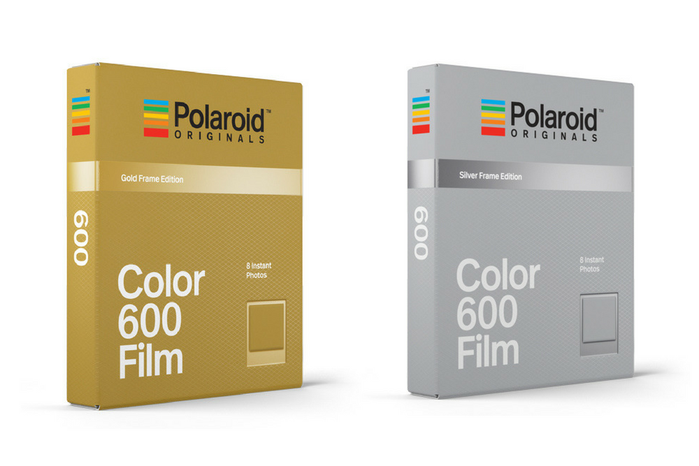 Polaroid Originals release gold and silver framed film