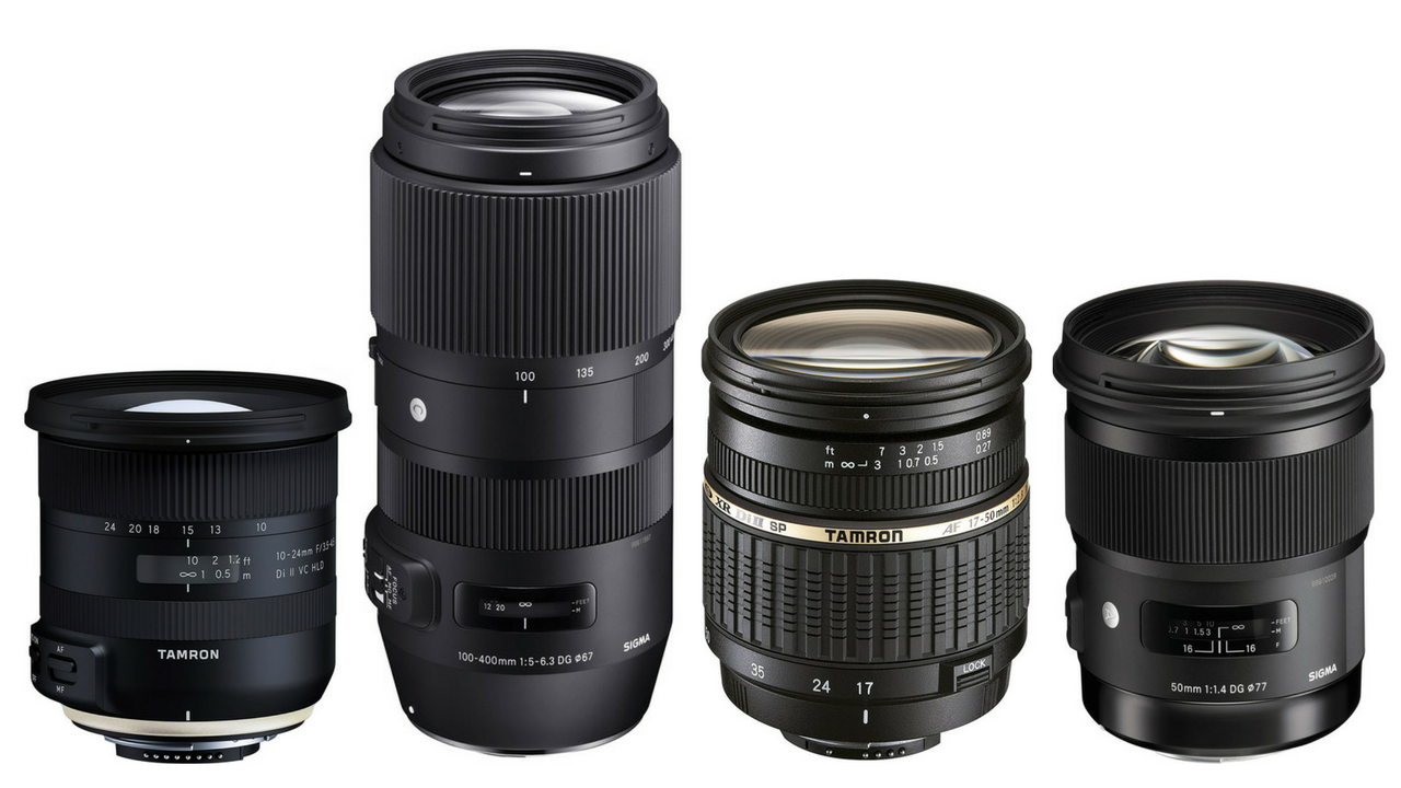 The eight best DSLR lenses you can buy from third-party manufacturers
