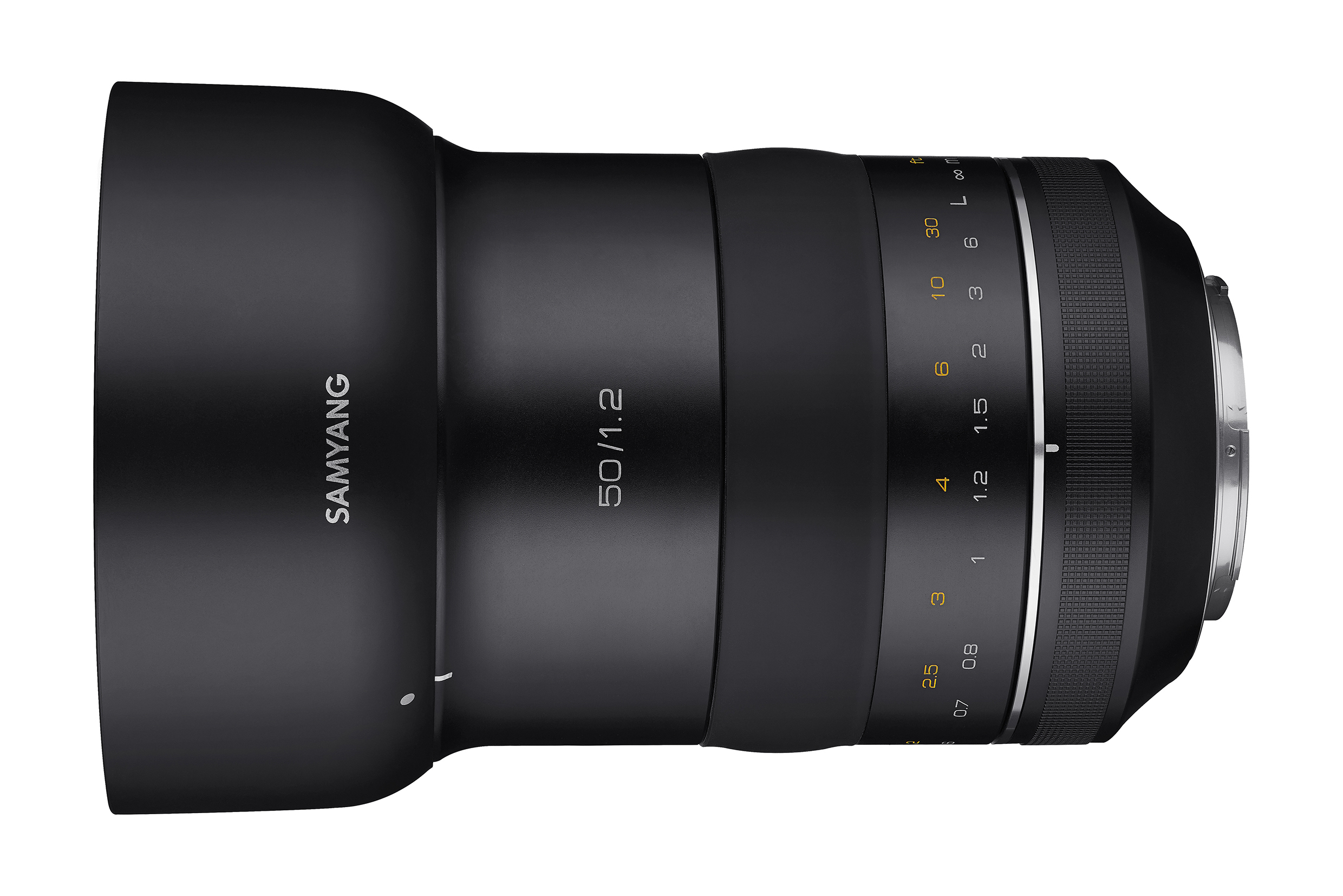 Samyang reveals new 50mm lens for Canon full-frame cameras