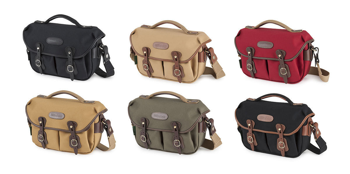 Billingham Hadley Small Pro in six colours