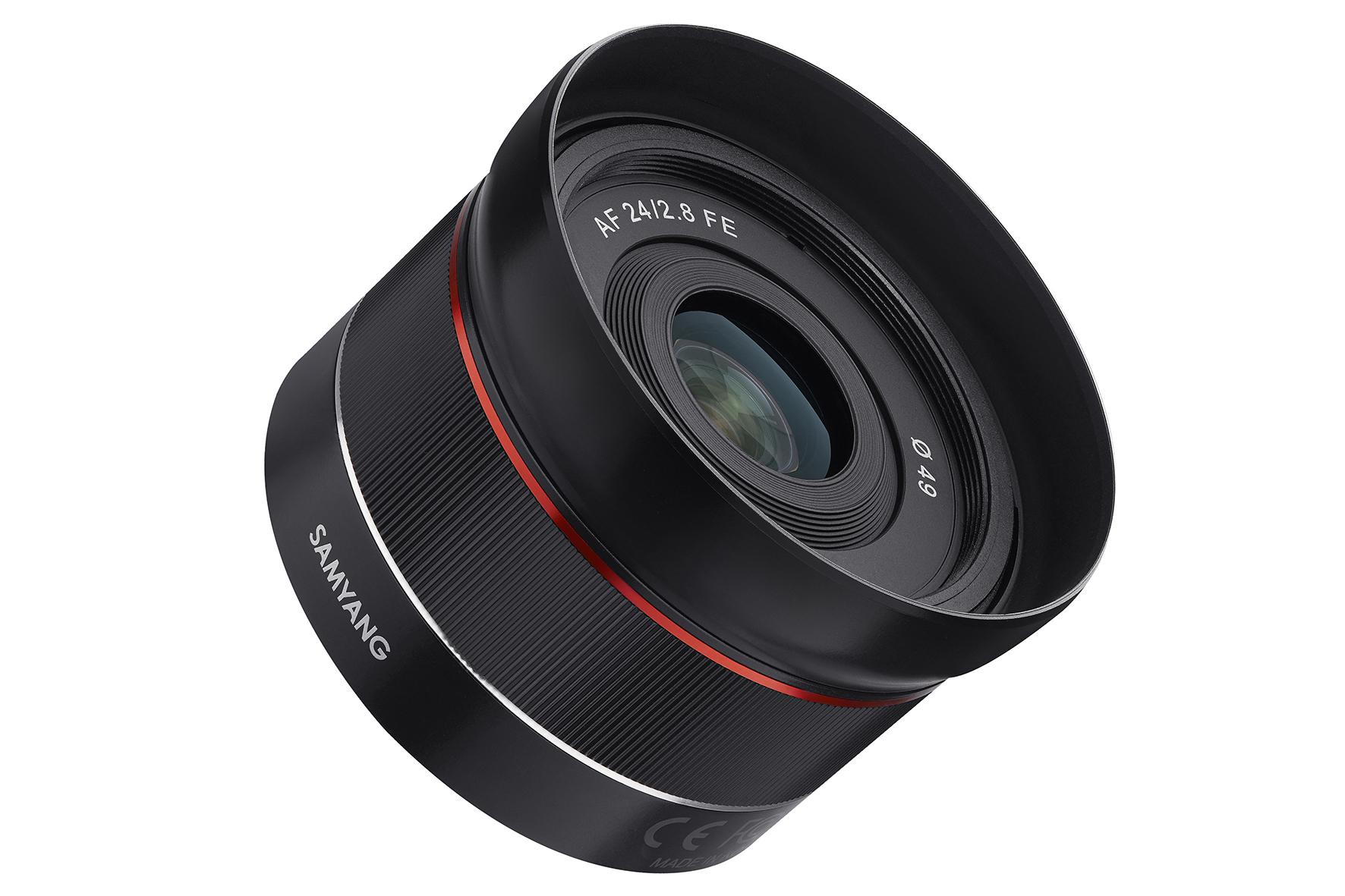 """Samyang unveils """"tiny but wide"""" 24mm lens for Sony full-frame cameras"""