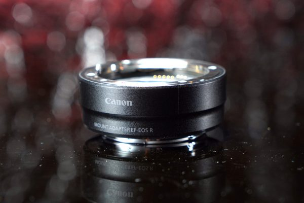 Canon EF to EOS R mount adapter