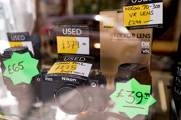 How to sell your old cameras and lenses