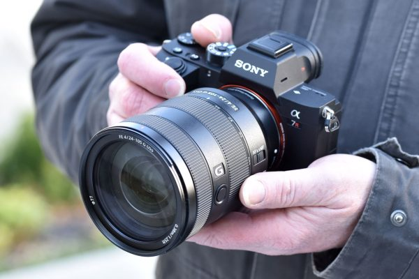 Sony 24-105mm in-hand