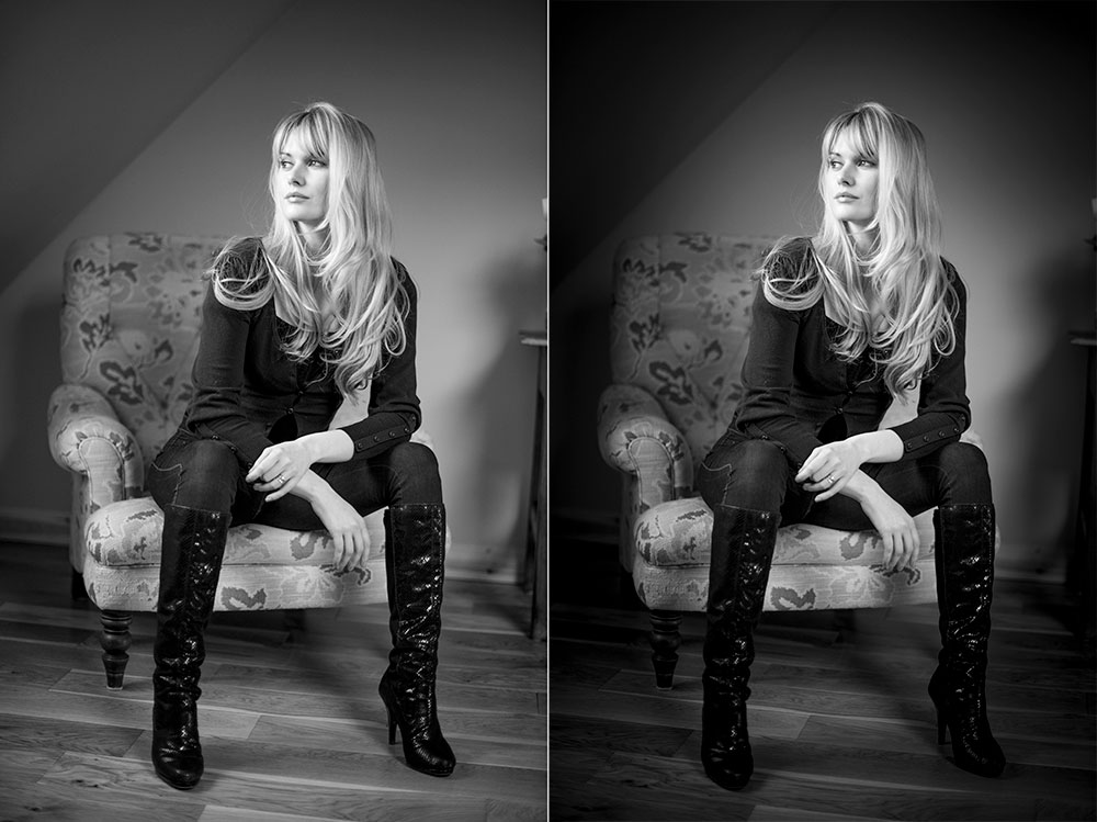 BW Vignettes before after