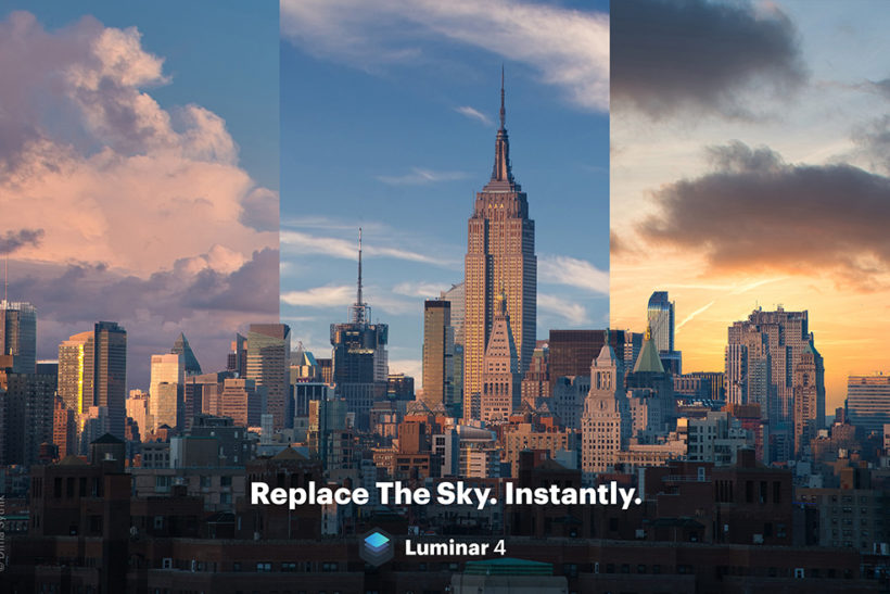 Boring sky in your landscape? It's got easier to replace it