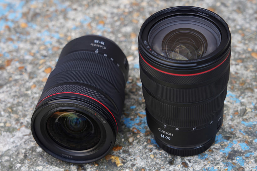 Fast zooms for Canon full-frame mirrorless