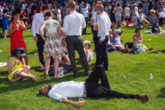 Viewpoint drinkers at Ascot