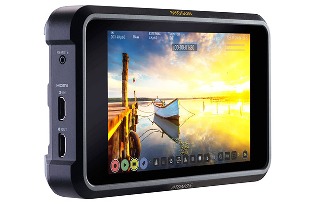 Atomos Shogun 7 - best gifts for photographers over £1000