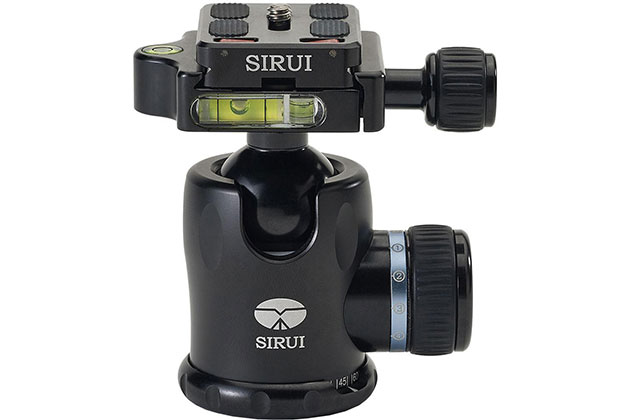 Sirui K-10X ball head - Best gifts for photographers between £50-£100
