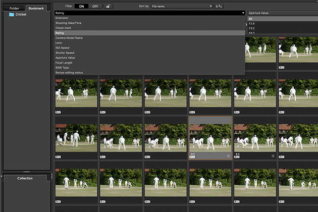 Canon DPP image selection - Canon Digital Photo Professional