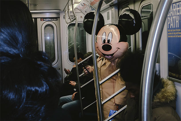 Coincidences New York by Chance mickey mouse