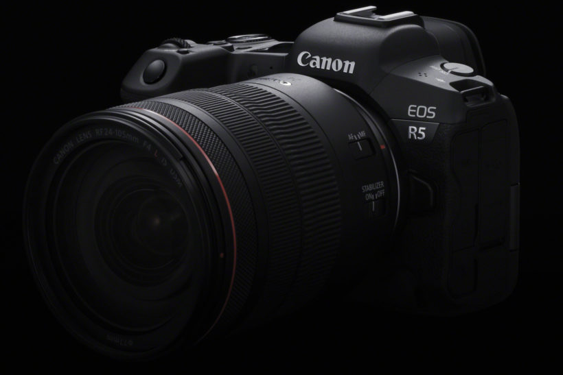 Canon developing high-end EOS R5