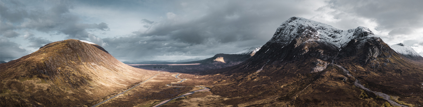 Mavic-2-panorama-of-Glencoe