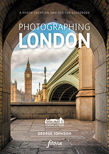 Photographing London Vol 1 book cover