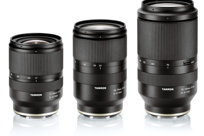 Tamron completes E-mount zoom trilogy with 70-180mm f/2.8