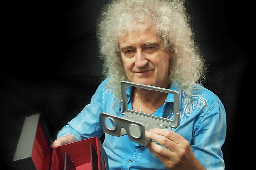 One vision: Brian May wants your 3D pictures