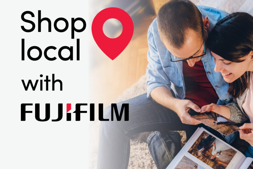 Fujifilm pushes Shop Local campaign to support retailers