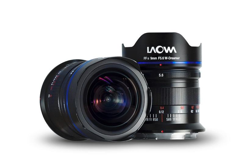 New ultra wide-angle rectilinear Laowa 9mm f/5.6 FF RL lens