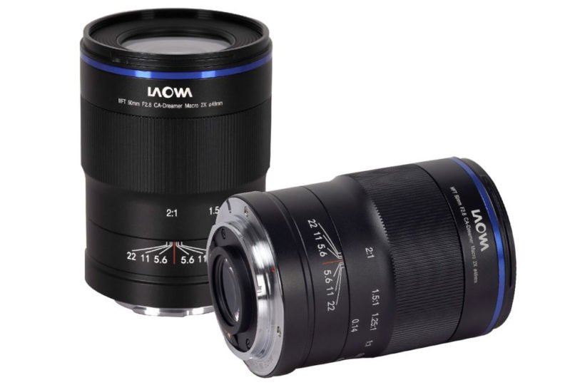 First 2x macro lens for Micro Four Thirds