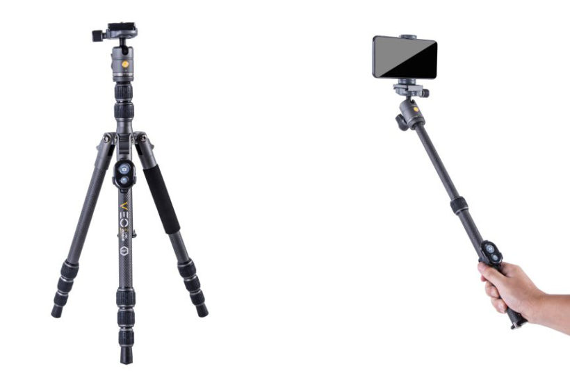 Vanguard unveiling travel tripods at virtual Photography Show