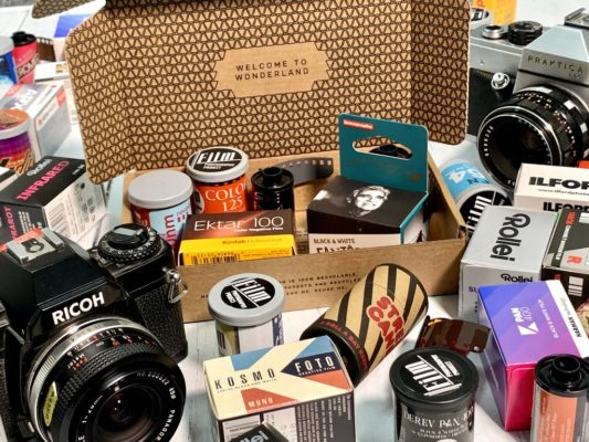 Subscription service offers 'wonder box' of analogue photography films to try 3
