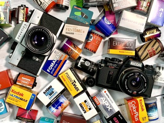Subscription service offers 'wonder box' of analogue photography films to try 2