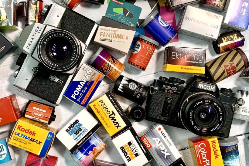 Subscription service offers 'wonder box' of analogue photography films to try