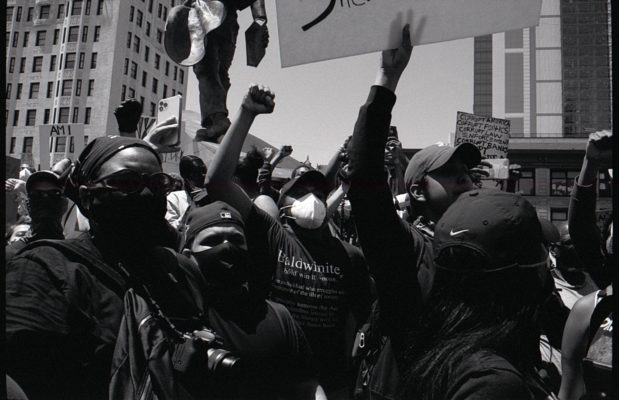 What was it like to cover the Black Lives Matter protests in NYC? 12
