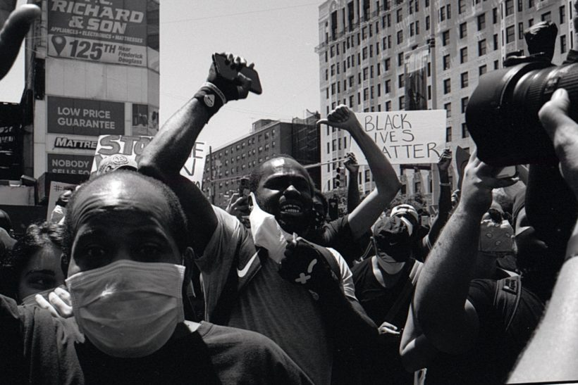 What was it like to cover the Black Lives Matter protests in NYC?