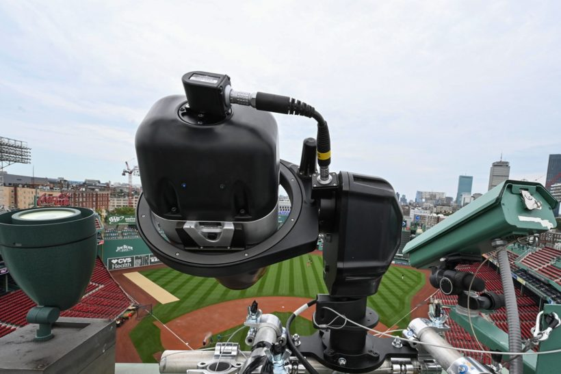 'Striking out' to shoot baseball safely with the Nikon D5